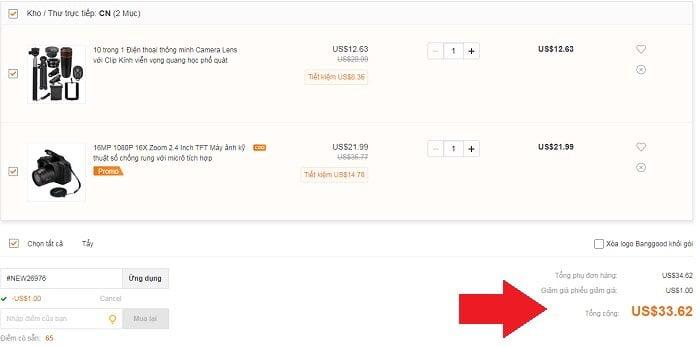 Trãi nghiệm mua hàng Online bằng Paypal cực đơn giản 11