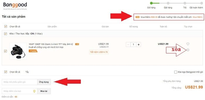 Trãi nghiệm mua hàng Online bằng Paypal cực đơn giản 10