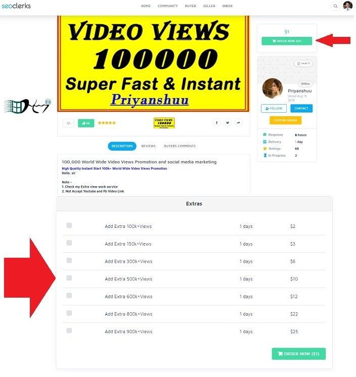 Mua view Youtube uy tín nhất từ seoclerk, miễn phí 5$ 14