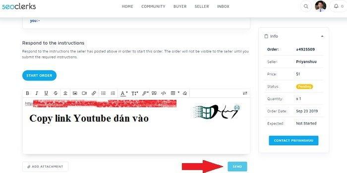 Mua view Youtube uy tín nhất từ seoclerk, miễn phí 5$ 16