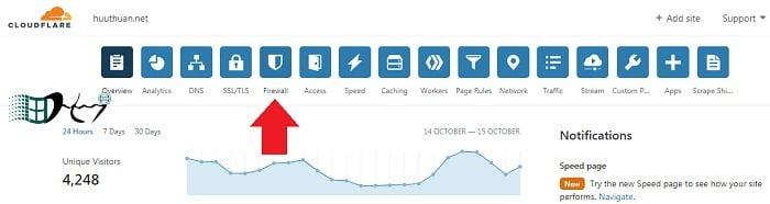 Cấu hình Cloudflare để hạn chế DDOS, botnet,... hiệu quả 3