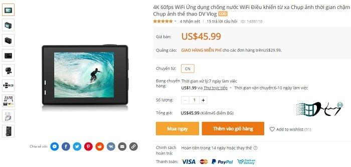 Cách mua hàng trên Banggood giá rẻ ship về Việt Nam 2