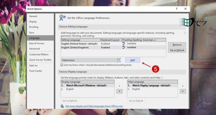 Cách thay đổi ngôn ngữ trong Microsoft Office mới nhất 4