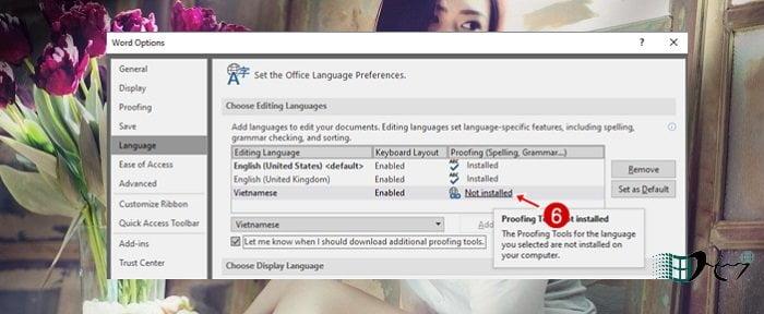 Cách thay đổi ngôn ngữ trong Microsoft Office mới nhất 5