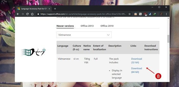 Cách thay đổi ngôn ngữ trong Microsoft Office mới nhất 7