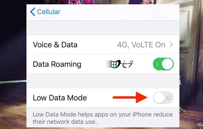 Cách tiết kiệm dung lượng 3G/4G trên IOS 13 hiệu quả 2