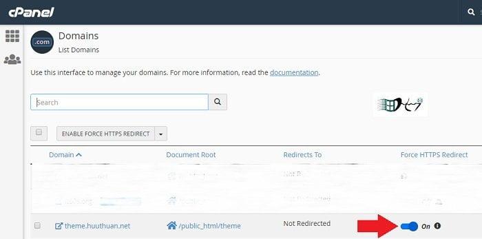 Chuyển toàn bộ HTTP sang HTTPS trên cPanel một cú Click 2