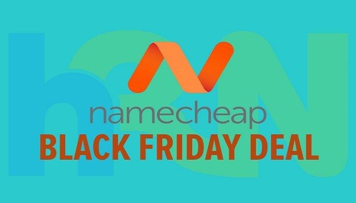 Black Friday Namecheap cực độc giảm đến 99% dịch vụ 1