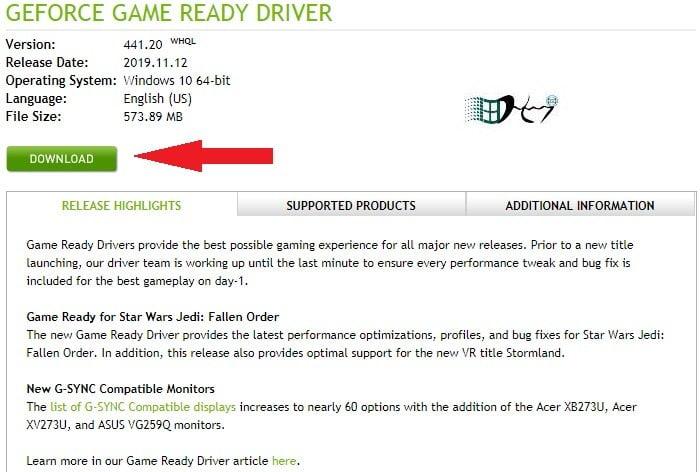 Cách cập nhật trình điều khiển NVIDIA lên phiên bản mới nhất 1