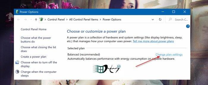 Tự khởi động khi mở nắp máy tính trong Windows 10 5