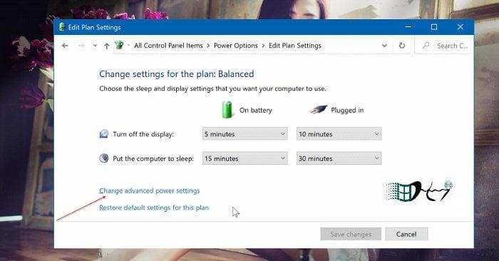 Tự khởi động khi mở nắp máy tính trong Windows 10 2