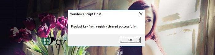 Cách xóa Key Windows để đưa về trạng thái kích hoạt ban đầu 5