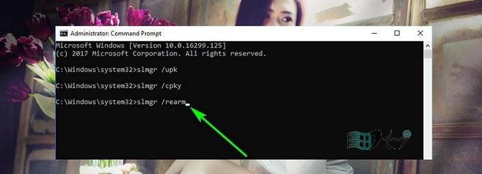 Cách xóa Key Windows để đưa về trạng thái kích hoạt ban đầu 6