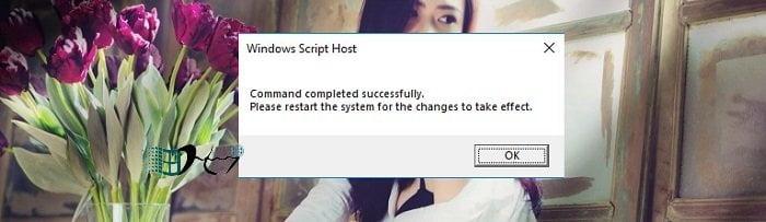 Cách xóa Key Windows để đưa về trạng thái kích hoạt ban đầu 7