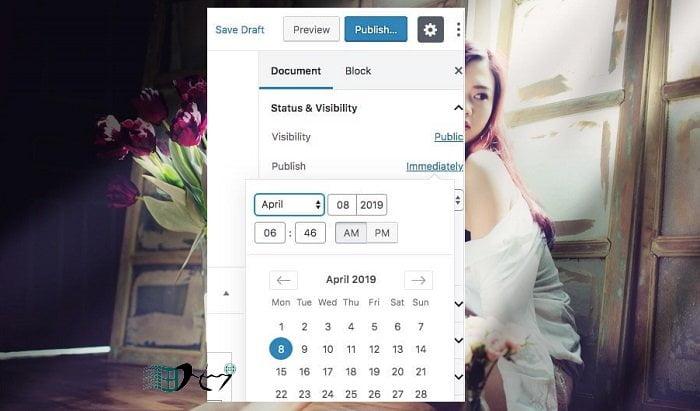 Cách đặt lịch tự động đăng bài viết trong Wordpress 5