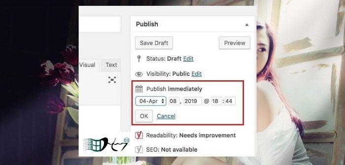 Cách đặt lịch tự động đăng bài viết trong Wordpress 3