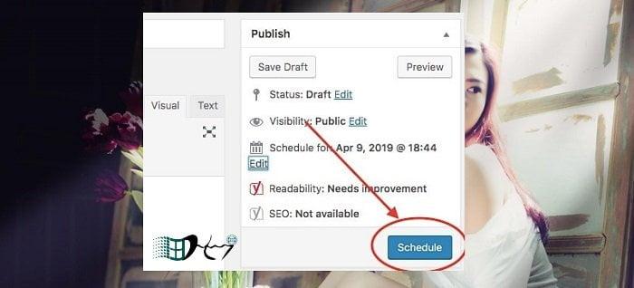 Cách đặt lịch tự động đăng bài viết trong Wordpress 4