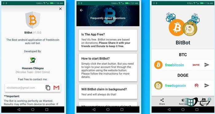 Nhận Bitcoin tự động miễn phí trên điện thoại hàng giờ 2