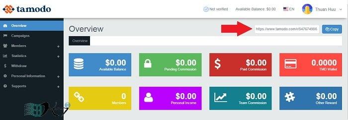 Kiếm tiền đơn giản miễn phí không cần vốn với Tamodo 4