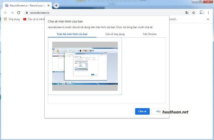 Cách quay màn hình máy tính không cần phần mềm hiệu quả 4