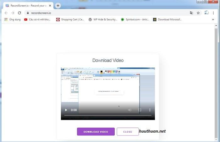 Cách quay màn hình máy tính không cần phần mềm hiệu quả 6