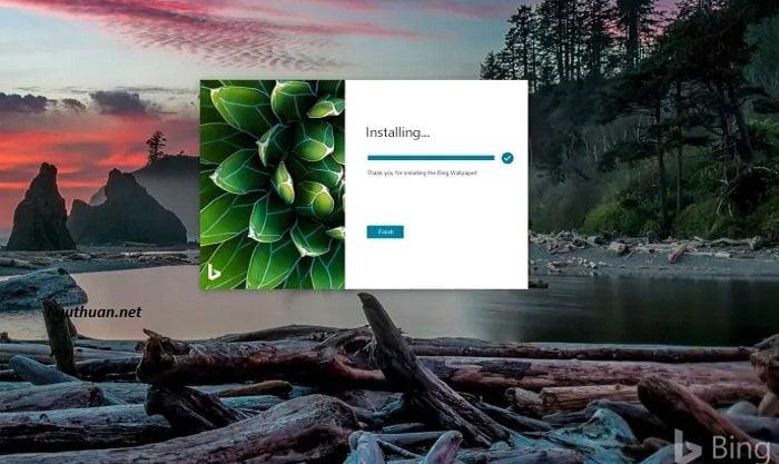 Bing Wallpaper kho ảnh nền bá đạo cho Windows 10 3