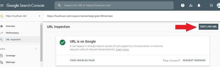 Cách giúp bài viết mới Index trên Google nhanh nhất 3