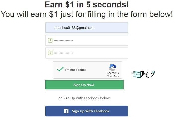 Cách kiếm tiền Online miễn phí với TimeBucks