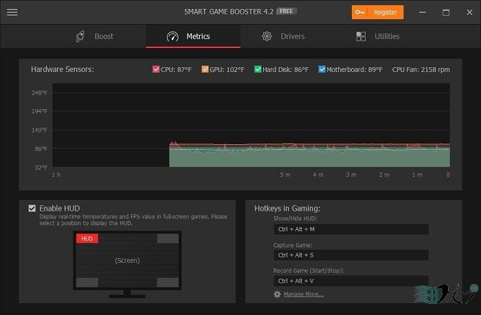 Smart Game Booster giúp game nặng chạy như gió 9