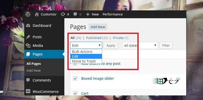 Cách bật hoặc tắt bình luận trong các trang Wordpress 4