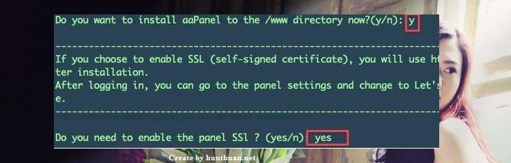 Làm thế nào để cài đặt aaPanel trên VPS 3