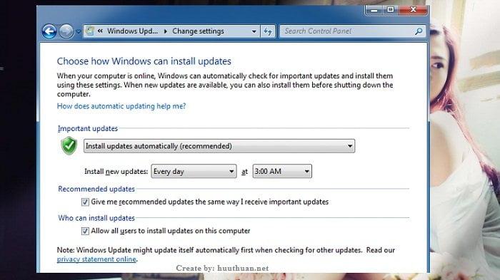 Cách cấu hình tự động Update trong Windows một cách nhanh nhất 3