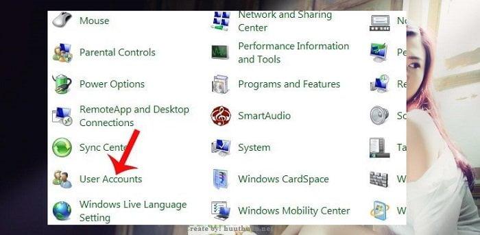 Cách đặt mật khẩu trên windows 7 đơn giản nhất 7