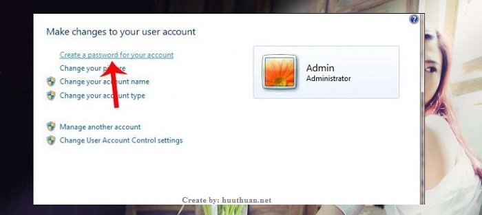Cách đặt mật khẩu trên windows 7 đơn giản nhất 2