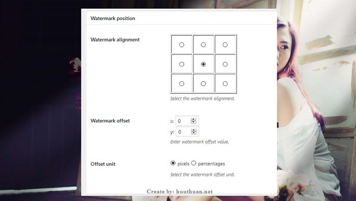 Cách tự động đóng dấu bản quyền vào ảnh Wordpress 2