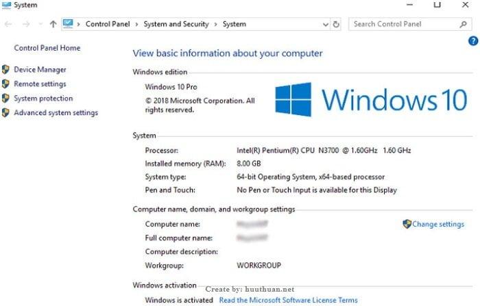 Giới hạn Ram của các phiên bản Windows là bao nhiêu? 2
