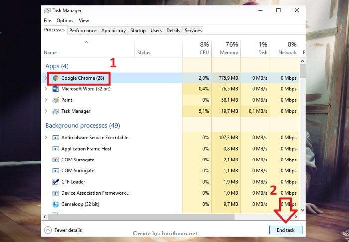 Cách xử lý ứng dụng bị treo hiệu quả trên Windows 5