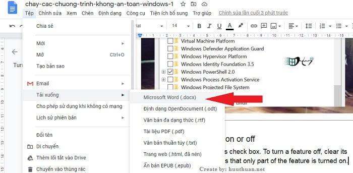 Chuyển File hình ảnh, PDF sang Word không lỗi Font bằng Google Docs 3