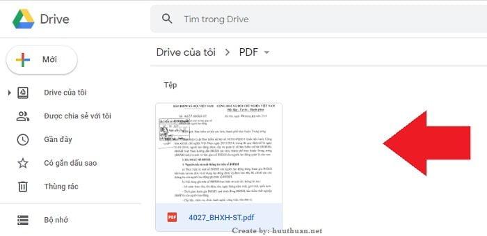 Chuyển File hình ảnh, PDF sang Word không lỗi Font bằng Google Docs 4