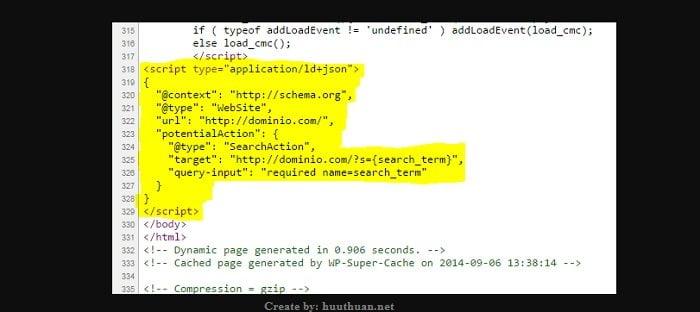Cách tích hợp hộp tìm kiếm liên kết trang web của Google 2