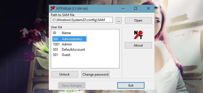 Các cách phá Password trên Windows đơn giản 3