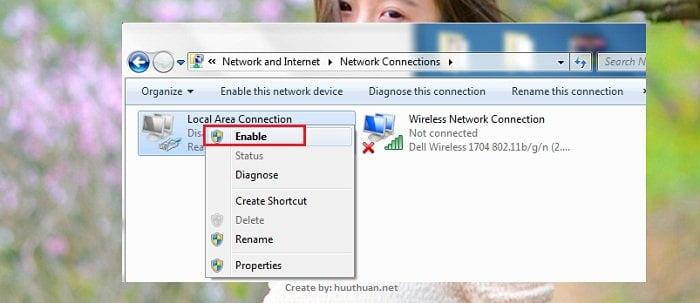 Các cách khắc phục lỗi máy tính không kết nối được internet? 4
