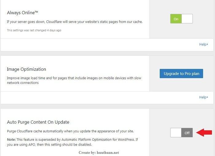 Tăng tốc wordpress bằng Automatic Platform Optimization của CloudFlare 5