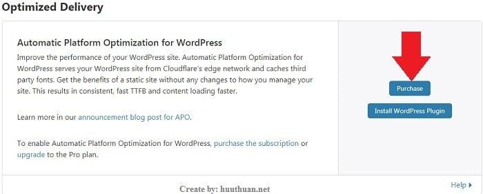 Tăng  tốc wordpress bằng Automatic Platform Optimization