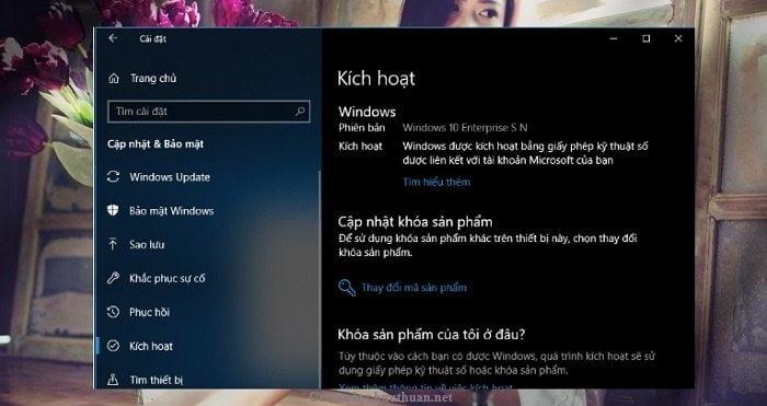 Active Windows 10 bản quyền miễn phí