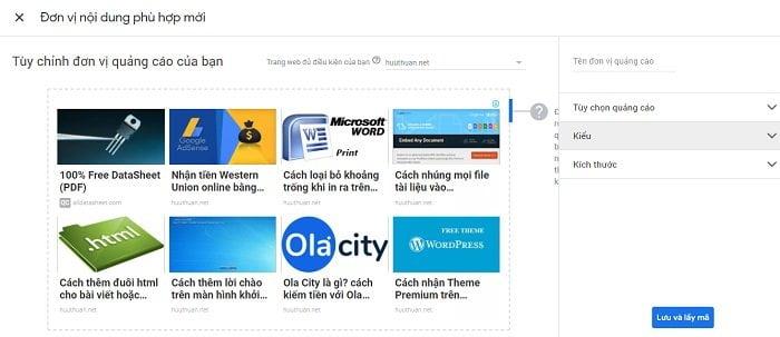 Tăng thu nhập Adsense bằng cách chèn quảng cáo nội dung phù hợp 3