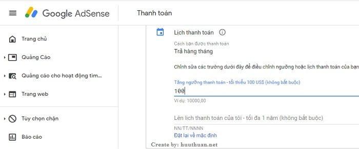 Cách nhận tiền Adsense qua chuyển khoản ngân hàng tại Việt Nam? 3