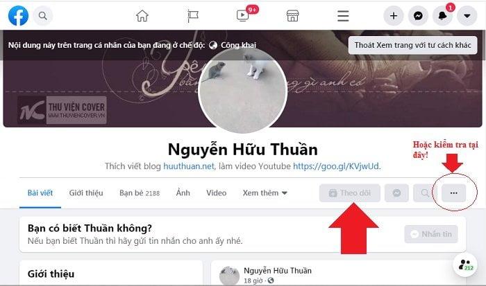 Mẹo bật nút theo dõi Facebook trên trang cá nhân mới nhất 15