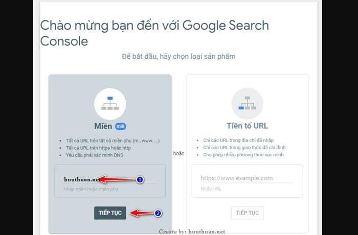 Đưa trang web lên công cụ tìm kiếm Google