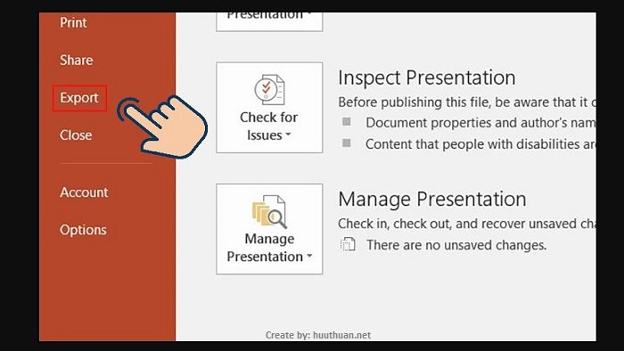 Mẹo chuyển nội dung File PowerPoint sang Word cực nhanh 2